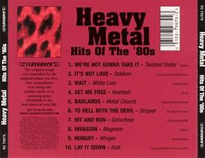 heavy metal hits of the 80s various artists songs