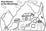 Coloring Mountains Mountain Colouring Scenery Sheets Children Template Coloringpagesfortoddlers Wheat Nature Disimpan Dari sketch template