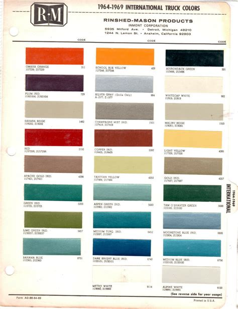 take a look these 20 international paint colour codes