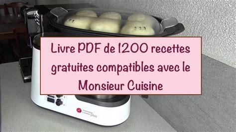 Livre Monsieur Cuisine Hh63 Jornalagora