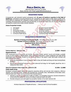 Ergun atik nursing resume templates for Registered nurse resume samples free