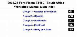 Ford Fiesta St150 - 2005 Service Manual