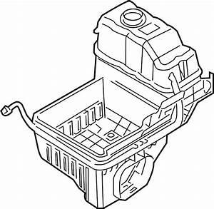 Lincoln Navigator Air Filter Housing  Liter  Lower