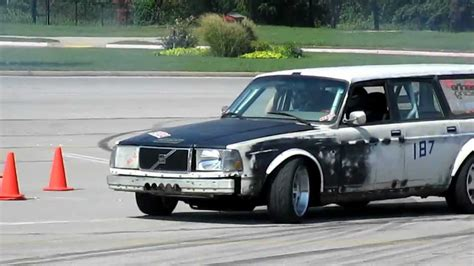 Chevy Volvo by Drifting Volvo Wagon Chevy Small Block V8