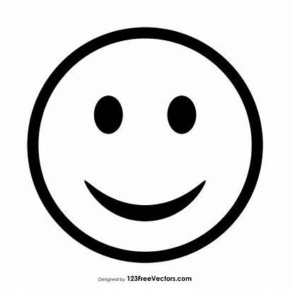 Smiley Outline Face Emoticons Vector Acid 123freevectors