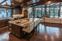 craftsman style kitchen 37 Craftsman Kitchens with Beautiful Cabinets - Designing Idea