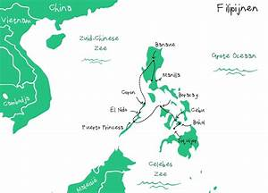 Backpack route Filipijnen - Backpacken in Azie