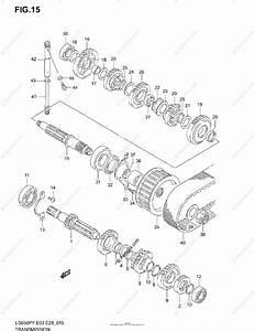 Suzuki Motorcycle 1998 Oem Parts Diagram For Transmission