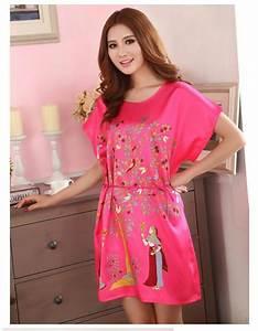robes de chambre et chemises de nuit vetements pour With tapis chambre bébé avec chemise femme a fleur
