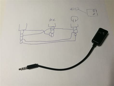 Trrs Plug Two Trs Jack Headset Adapters