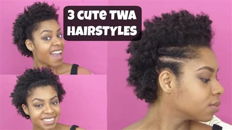 Cute Natural Hairstyles For Your Twa