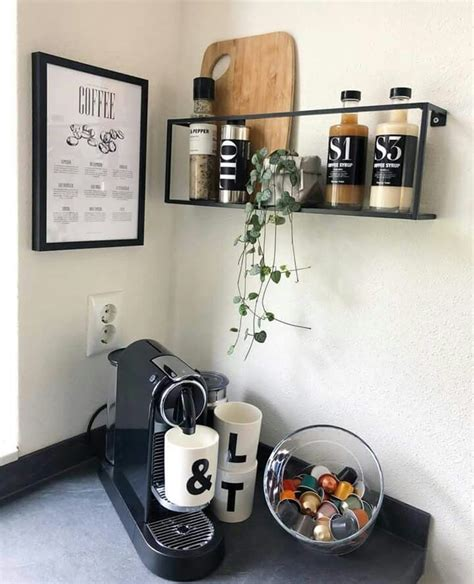 Frequent special offers and discounts up to 70% off for all products! Coffee corner ☕   Decor, Floating shelves, Home decor