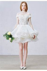 Shop discount cute ruffles off the shoulder ball gown for Cute short dresses to wear to a wedding