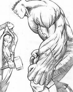 Thor - Hulk by Davinder on DeviantArt