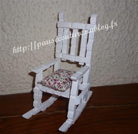chaise en epingle a linge en bois réalisations en pinces à linge pausecouture