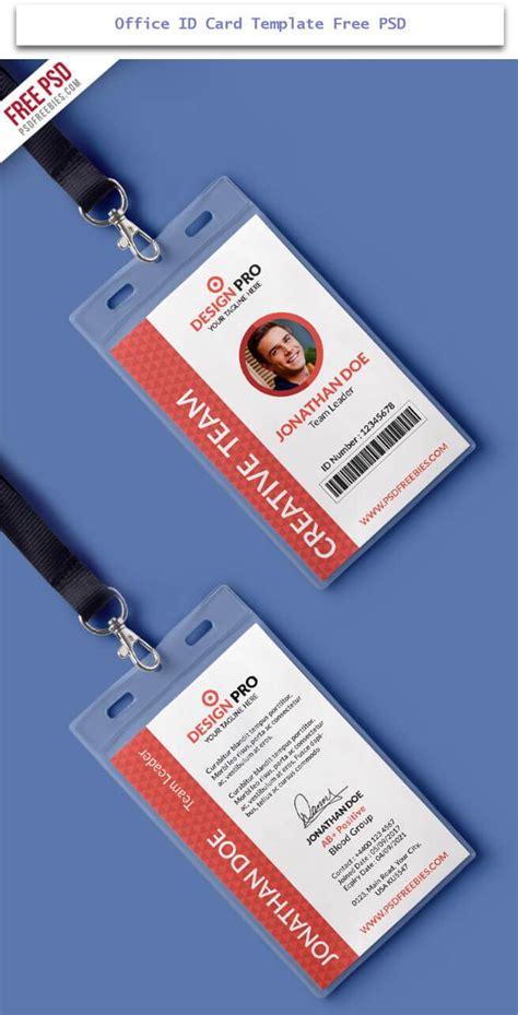 id card design template pin on design desk