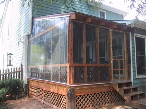 Winterizing A Screened Porch by Winterizing The Porch Outdoor Living
