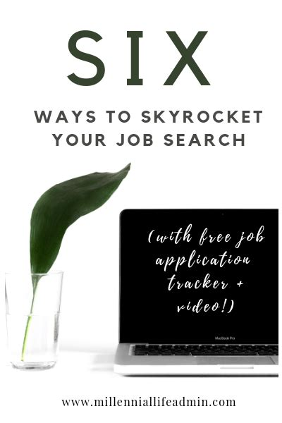 ways  skyrocket  job search  job application