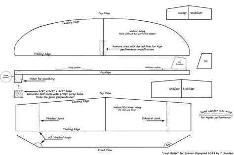 Build Catapult Balsa Wood Gliders PDF Woodworking