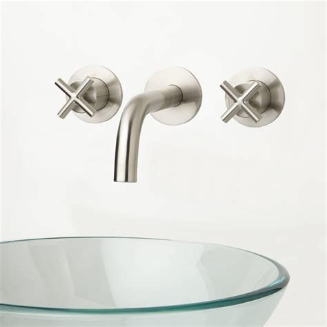 wall mount kitchen sink wall mount faucet height for vessel sink 6943