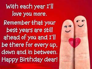 Happy Birthday quotes for husband, wife, boyfriend, girlfriend