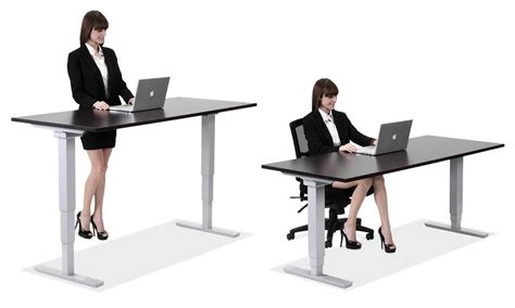 Sit Stand Desks Desk Height Adjustable Office Desks