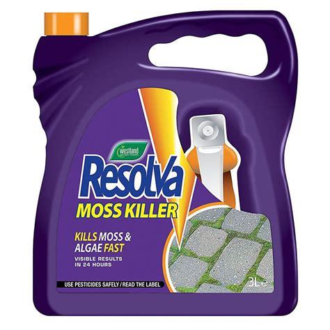 moss killer resolva moss killer rtu 3l on sale fast delivery greenfingers com