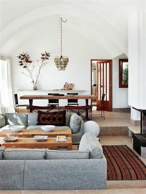 idee deco salon canapé gris deco salon sol marron maison design modanes com