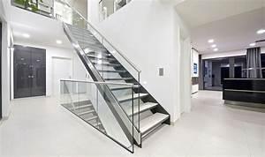 Treppe Mit Glasgeländer : moderne treppen bei finden sie ihre treppe ~ Sanjose-hotels-ca.com Haus und Dekorationen