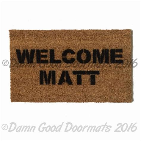 Are You A Doormat by Welcome Matt Door Mat Doormat Gifts For Him