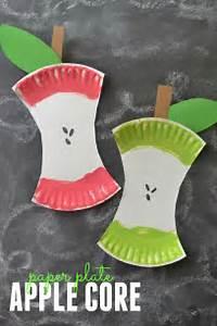 DIY apple core project - Fun Crafts Kids