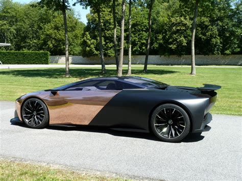 peugeot onyx peugeot onyx concept ride along offered as prize at goodwood