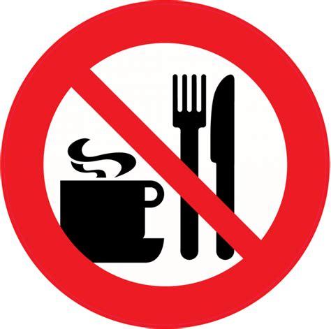 meuble cuisine 30 cm panneau interdiction de manger ou boire autocollants