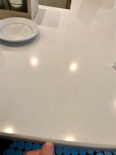 nice white quartz seam