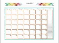 Full Page Printable Calendar calendar month printable