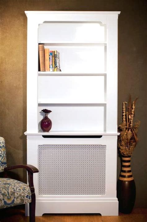 Radiator Cabinet With Shelves by Bookcase And Radiator Cabinet Designs