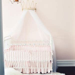 joy baby crib distressed white