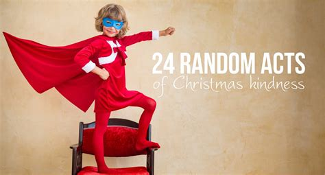 random acts  christmas kindness  printable