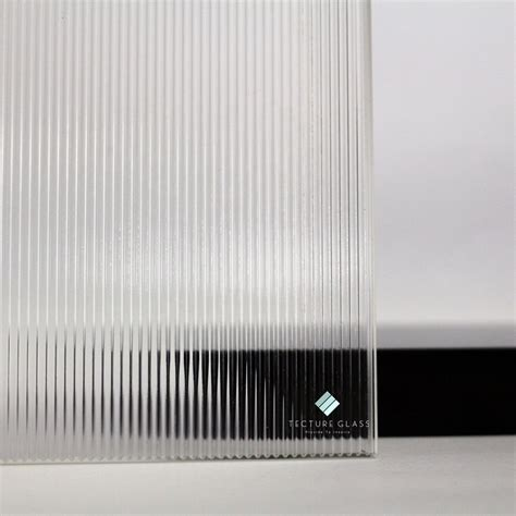 iron ultra narrow reeded glass fluted glass