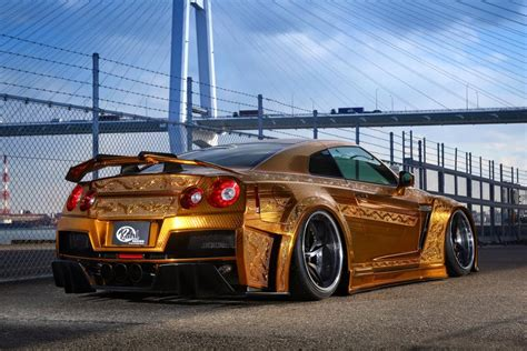 bugatti chiron gold gold engraved nissan gt r costs over 1 million