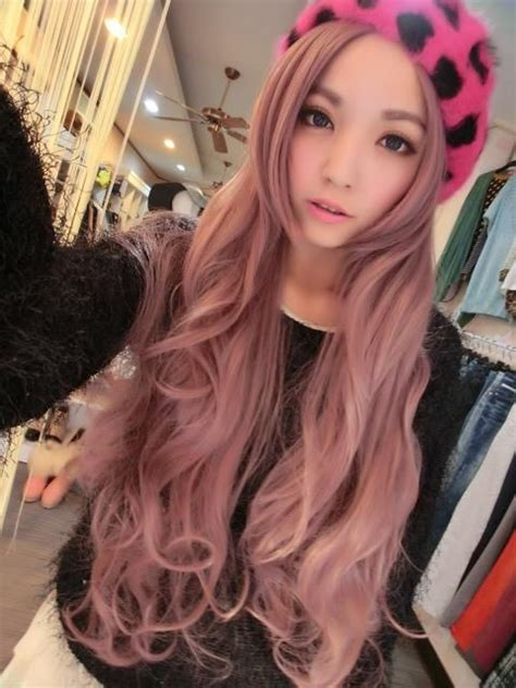 Japanese Pink Hair Dye Beautiful Hair Pinterest
