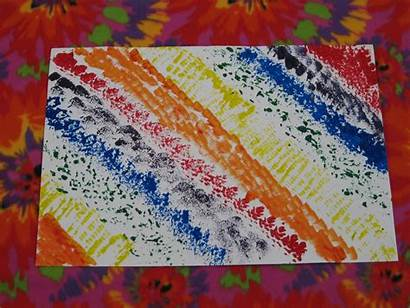 Objects Printmaking Household Using Textured Paint Halima