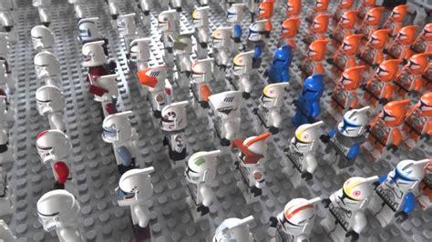 lego star wars clone army  youtube
