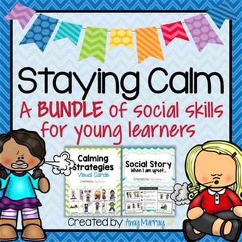 staying calm a social skills bundle for learners 978 | 40160760990009a93320322604cb5e6e social skills activities for preschool preschool math