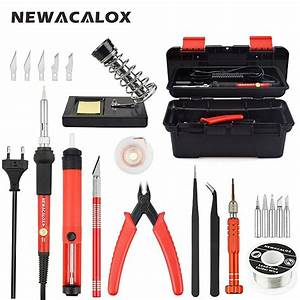 Newacalox Red Eu 220v 60w Adjustable Temperature