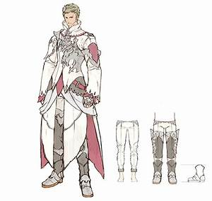 White Mage Male Characters Art Final Fantasy XIV