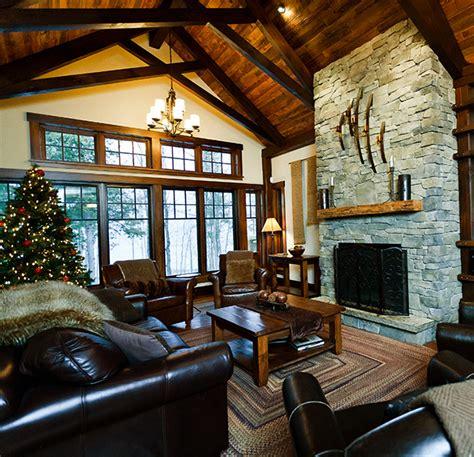 cabin floor serenity a luxury cottage rental owen sound ontario