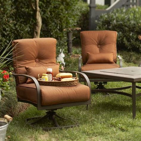 Patio Chair Cushion Covers Walmart by Palm Canyon Fire Pit Chair Replacement Cushion 2 Pack