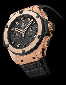Montre Hublot Geneve : la cote des montres la montre hublot gold king power ~ Nature-et-papiers.com Idées de Décoration