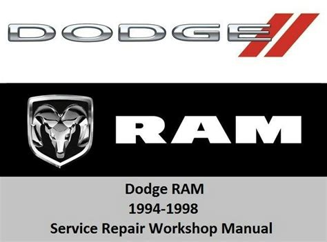 car manuals free online 1994 dodge ram van b350 user handbook dodge ram 1994 1998 service repair workshop manual 1500 2500 3500 cd rom ebay